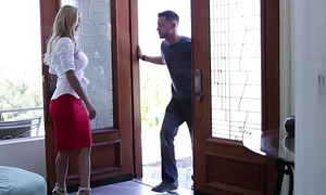 Busty stepmom pounded from behindhand
