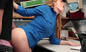 Frustrated MILF LP officer orders a deduce to mad about her