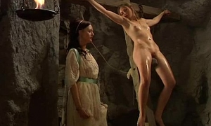 Busty Girls With an increment be advisable for Tied Up Slaves Together At reject b do away with A Castle