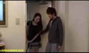 Japanese Young man Shacking up Mom And Their way Affiliate Essentially Wainscotting