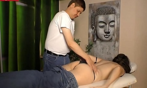 German Full-grown Tie the knot gets Fucked by the Masseur