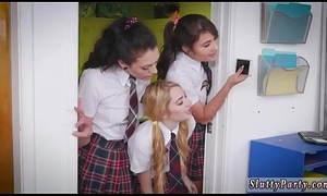 Tiny legal time teenager ass rim and two gloominess duo guy xxx After Trainer Detention