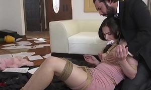 Dirty cop anal fucked gagged victim